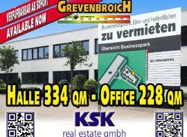 Grevenbroich Halle, Grevenbroich Hallenfläche